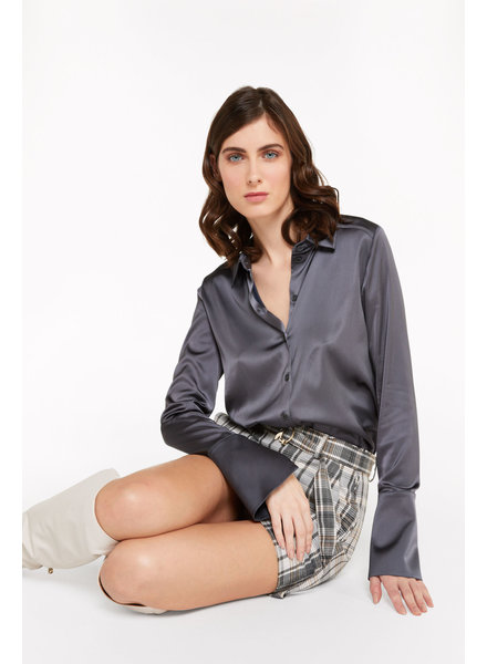 Patrizia Pepe Shirt lava grey