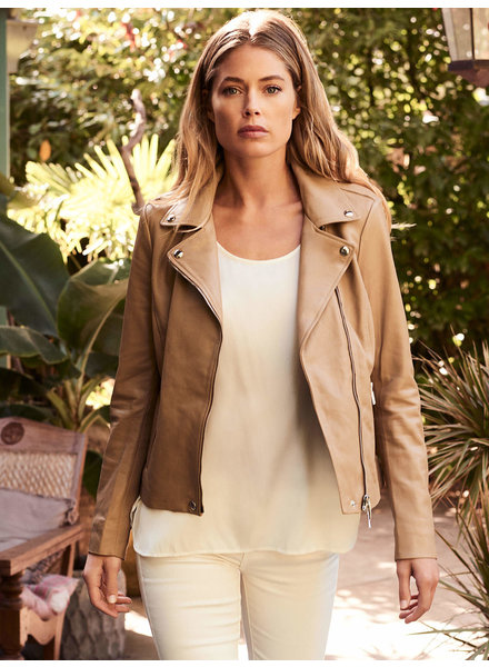 REPEAT cashmere Jacket nougat