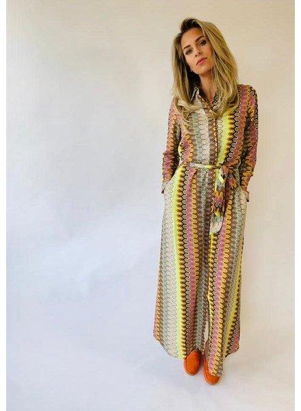 EST'SEVEN Maxi Dress MissoStripe