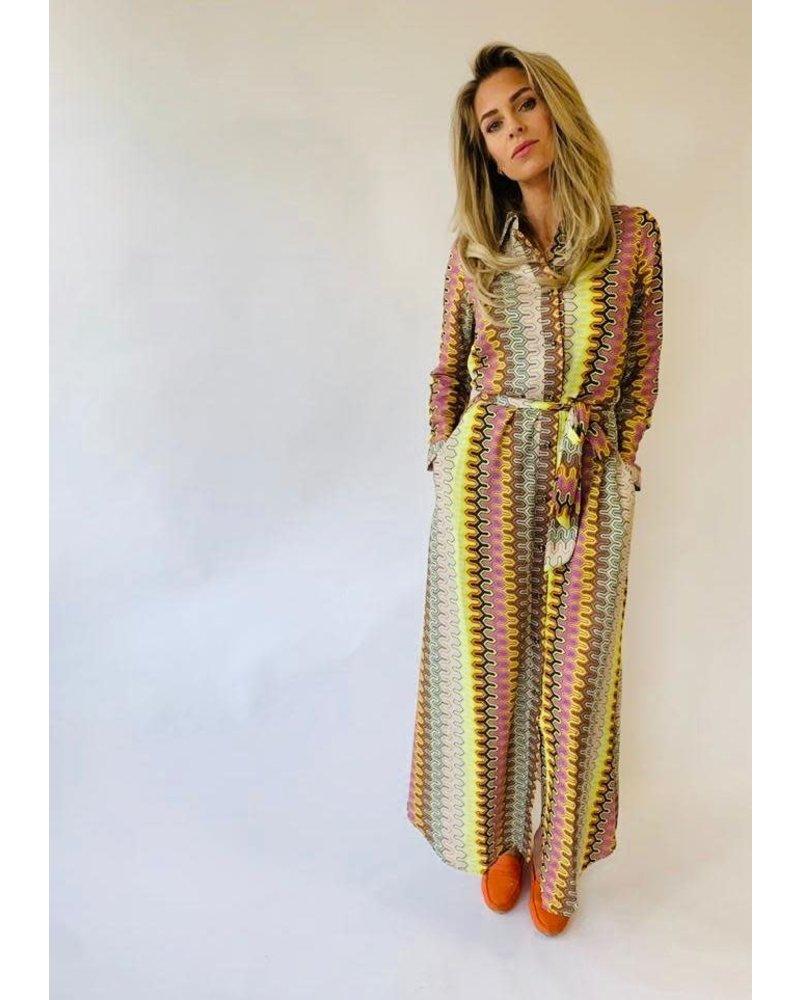 EST'SEVEN EST'SEVEN Maxi Dress MissoStripe