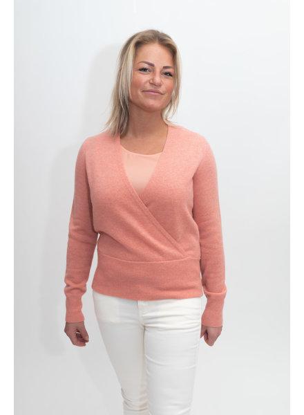 REPEAT cashmere Cashmere trui blush