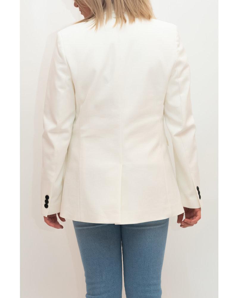 REPEAT cashmere REPEAT long blazer cream