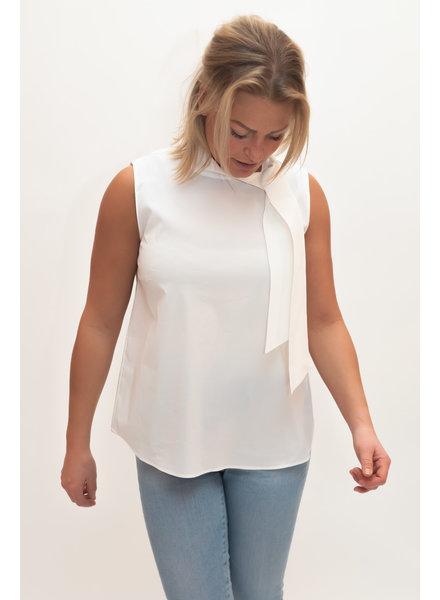REPEAT cashmere Cotton top white