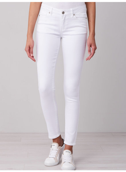 REPEAT cashmere 5 pocket white