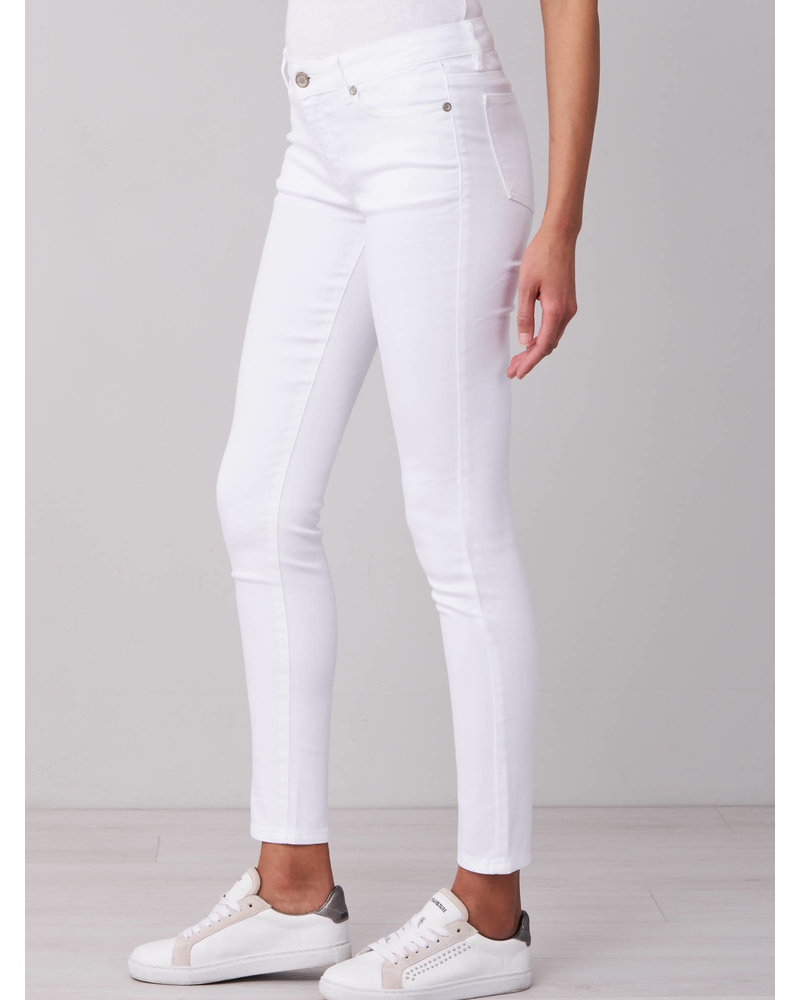 REPEAT cashmere REPEAT 5 pocket white