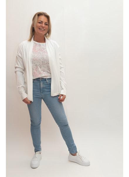 REPEAT cashmere Cardigan white
