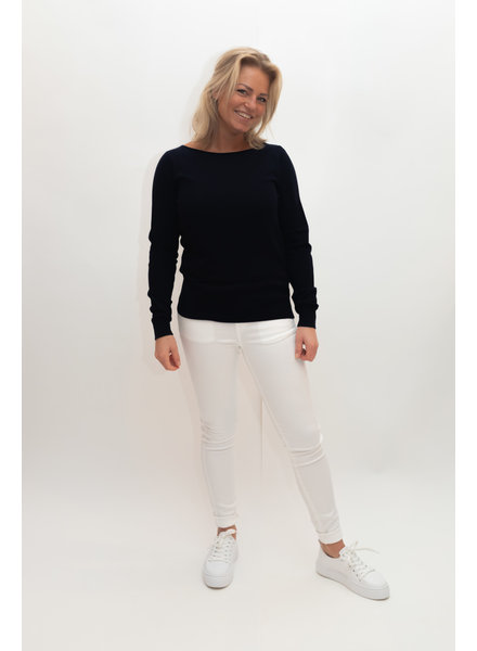 REPEAT cashmere Boothals navy