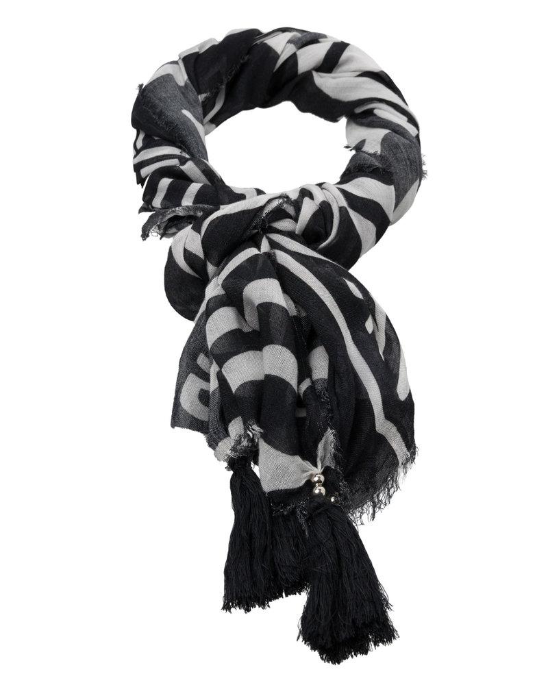 Marc Aurel Marc Aurel sjaal black/white