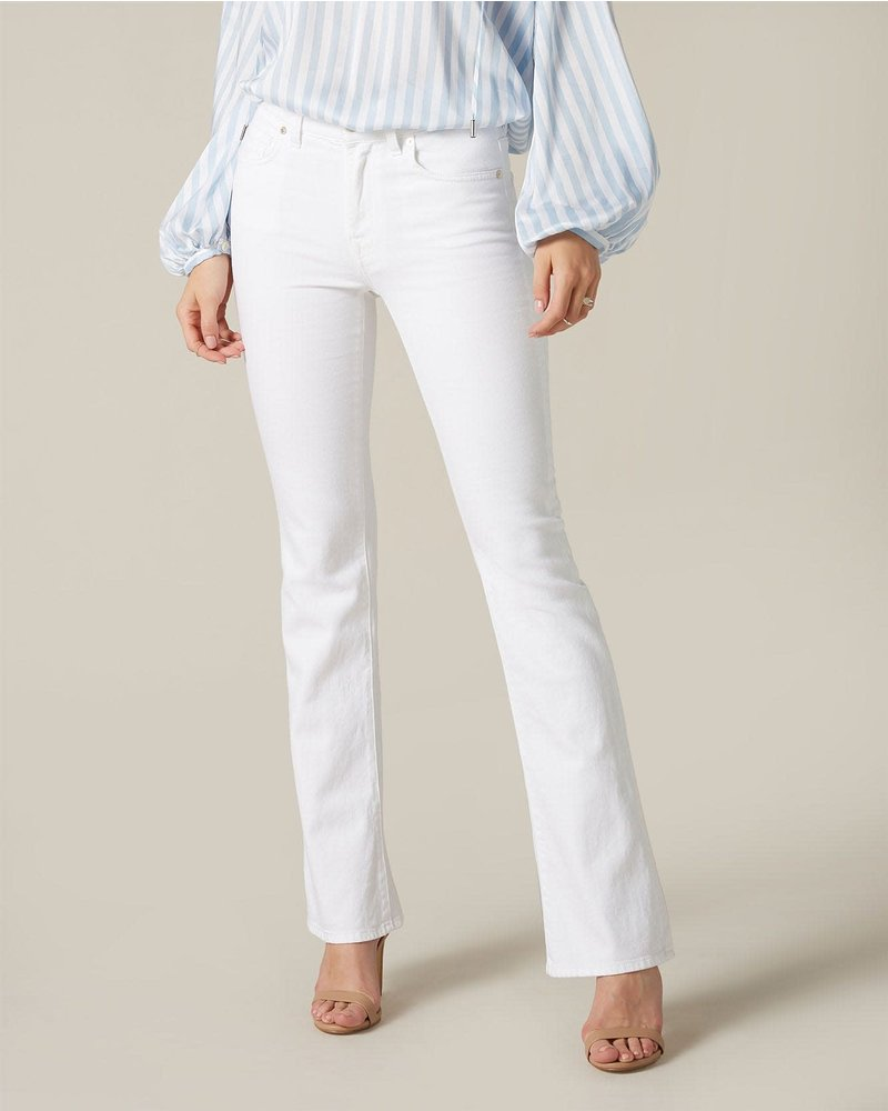 7 For All Mankind 7 FAMK bootcut pure white