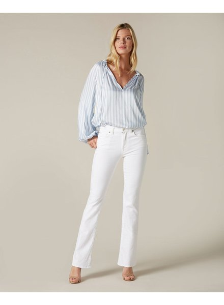 7 For All Mankind Bootcut pure white