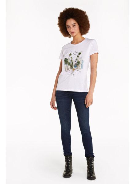 Patrizia Pepe T-shirt Los Angeles
