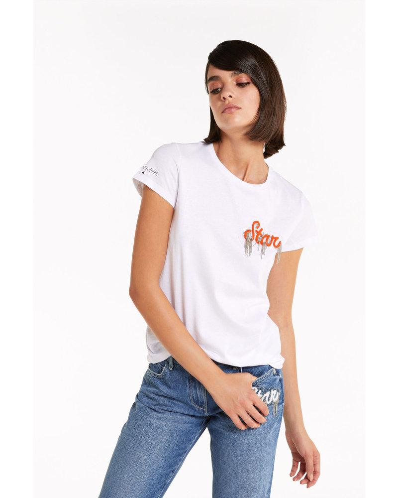 Patrizia Pepe Patrizia Pepe t-shirt bianco