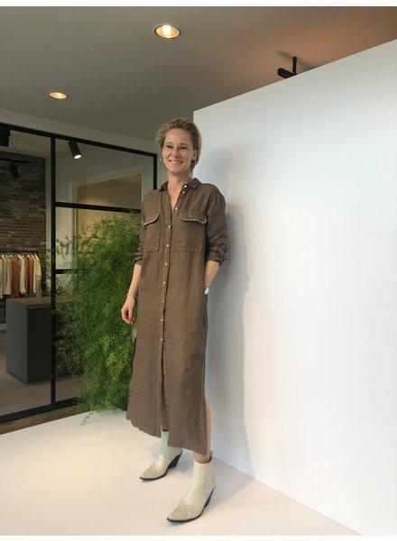 Mason's Dress Colette bronzo
