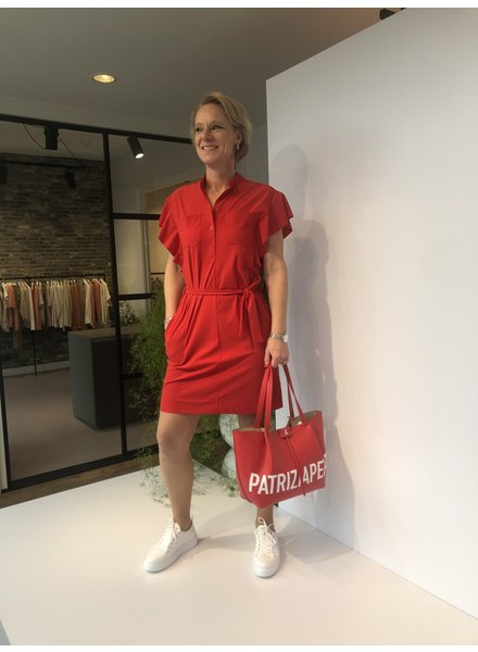 Indies Nola dress rouge