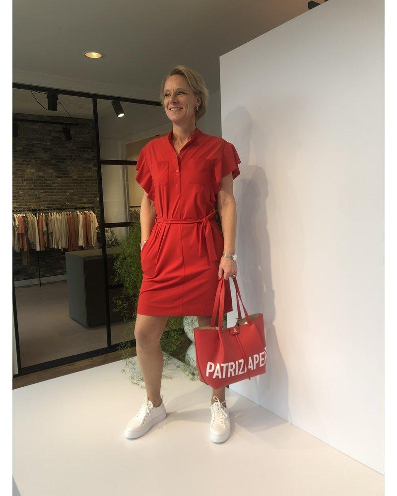 Indies Indies Nola dress rouge