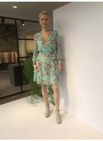 Marella Dress Ikebana mint