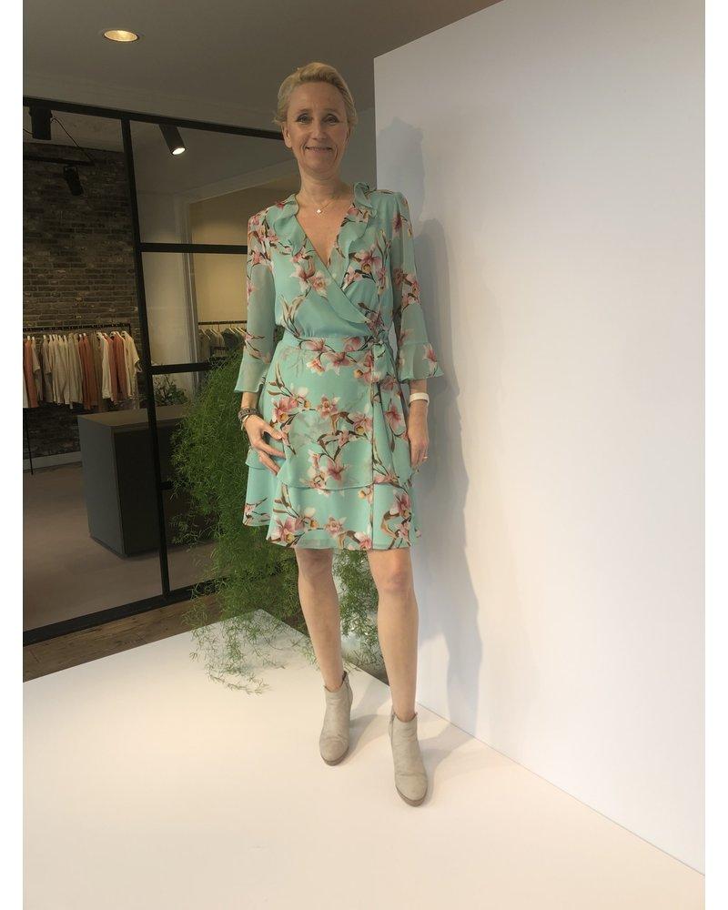 Marella Marella dress Ikebana mint