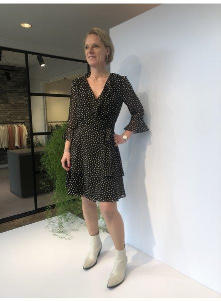 Marella Dress Ikebana black