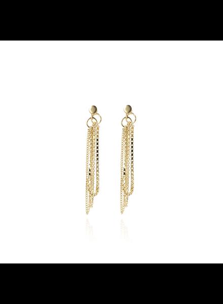 LOTT. gioielli Gouden venetian oorbellen