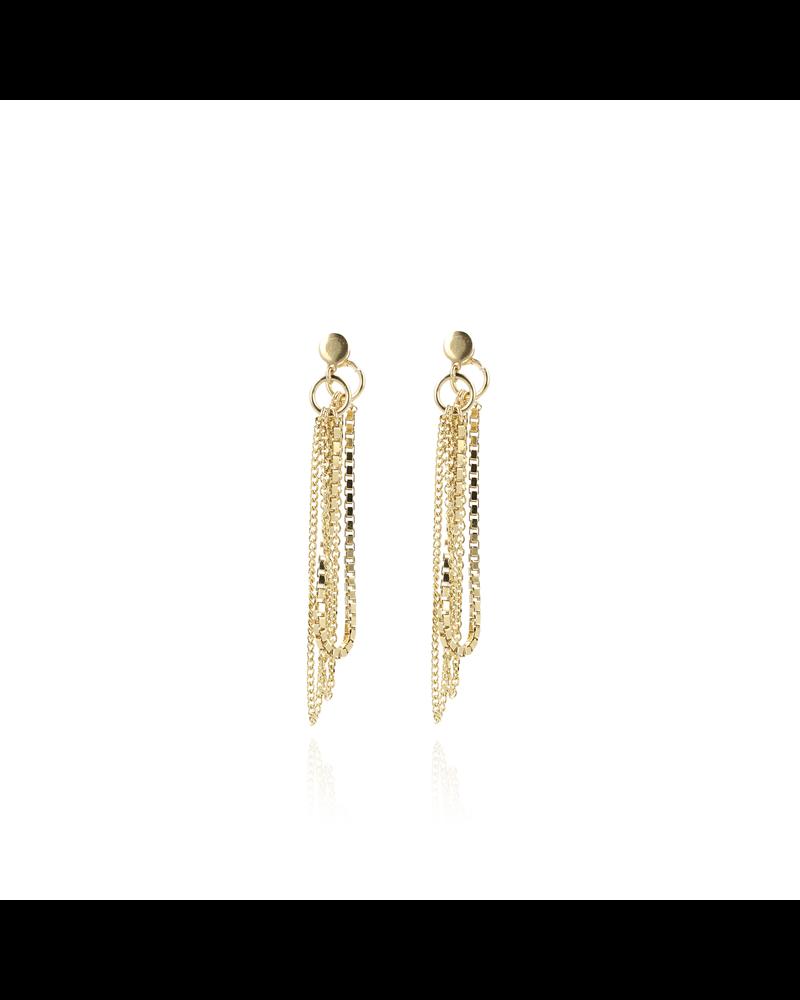 LOTT. gioielli LOTT. gouden venetian oorbellen