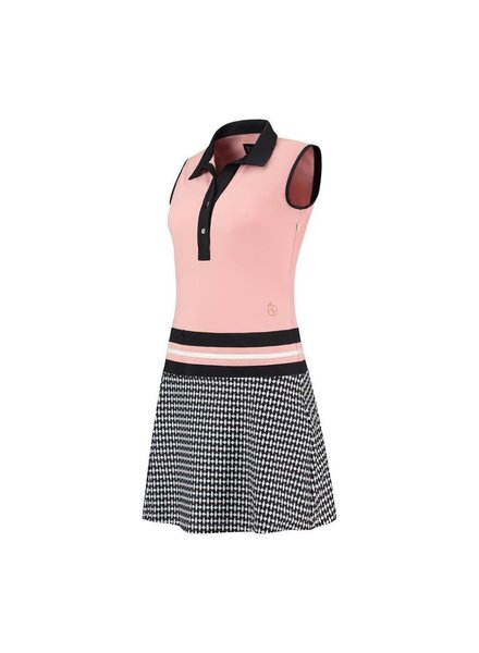 PAR69 Beaudille dress pink black