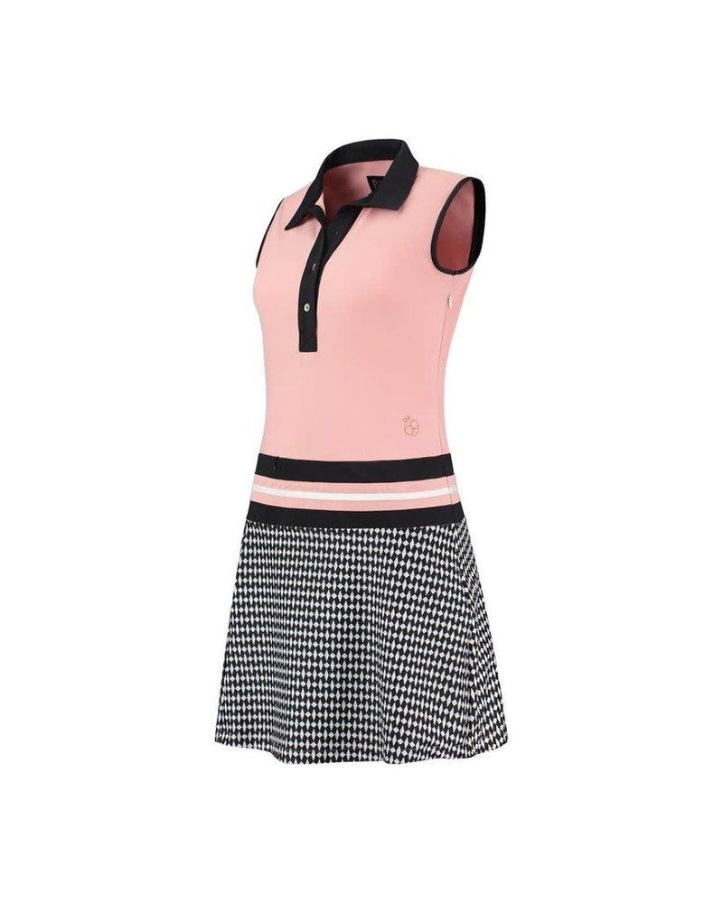PAR69 PAR69 Beaudille dress pink black
