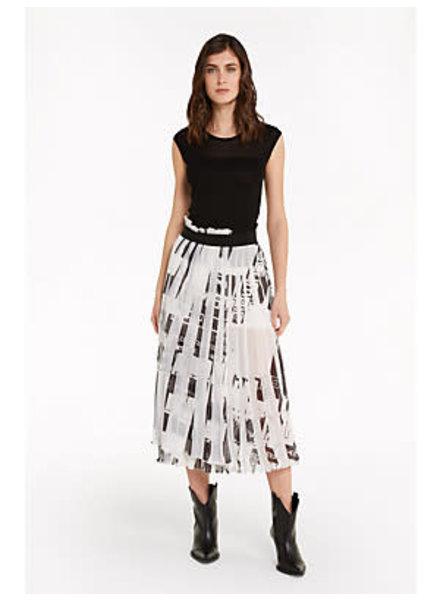 Patrizia Pepe Skirt black & white