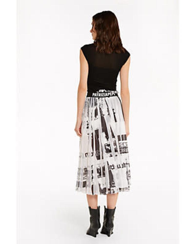 Patrizia Pepe Patrizia Pepe skirt black & white