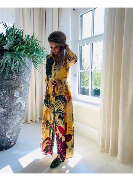 EST'SEVEN Maxi Dress Monkey Safari Big