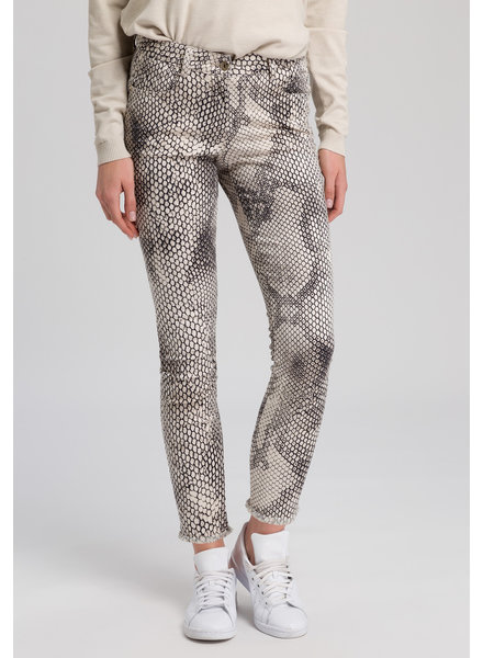 Marc Aurel Broek snakeprint sand