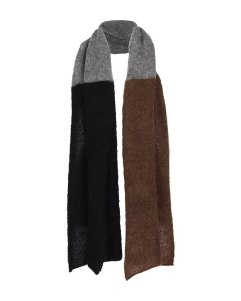 No Man's Land NML scarf multi cognac