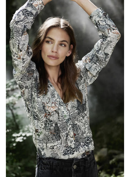 Princess goes Hollywood Blouse forest