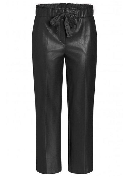 Cambio Colette leatherfake black