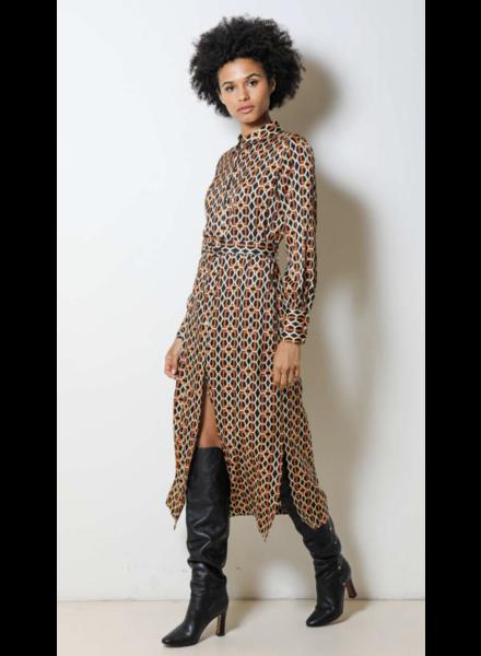 Dream Catcher Long dress brick maat 42