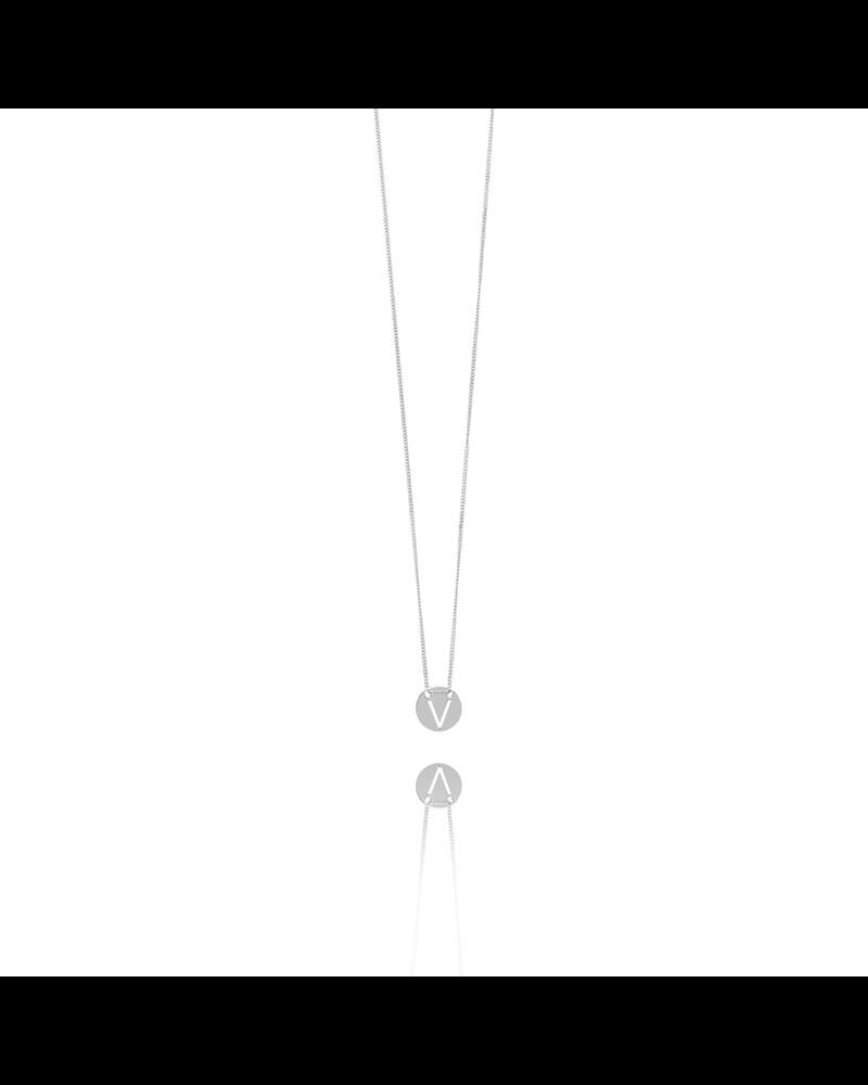 LOTT. gioielli Zilveren initial klein V