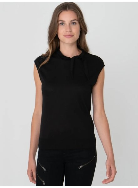 REPEAT cashmere Top black