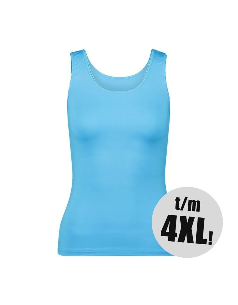 RJ Bodywear RJ Bodywear pure hemd turquoise Dames