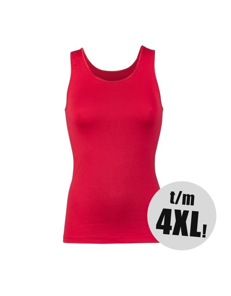 RJ Bodywear RJ Bodywear pure hemd rood Dames