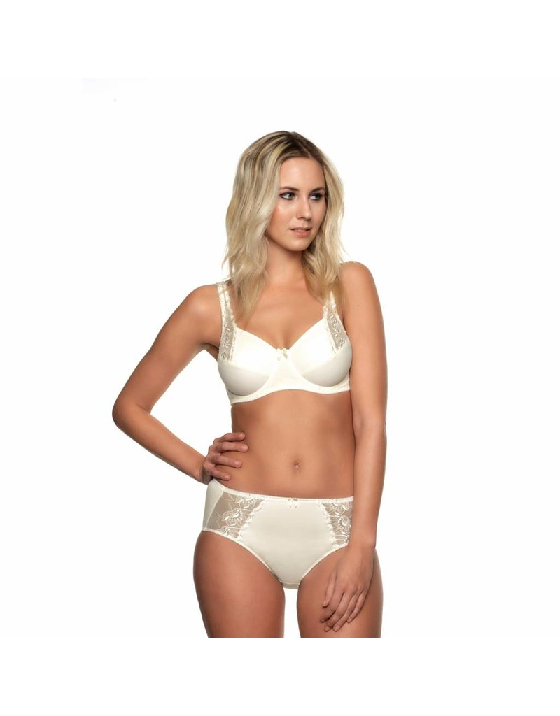 Elbrina Embroidery Brief  Slip Chamagne