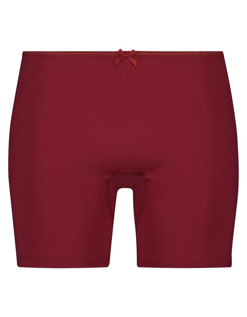 RJ Bodywear Long Brief Pure Color Donker Rood