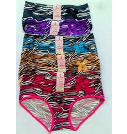 Good Feel 5-Pack MIX Slip Katoen zebraprint
