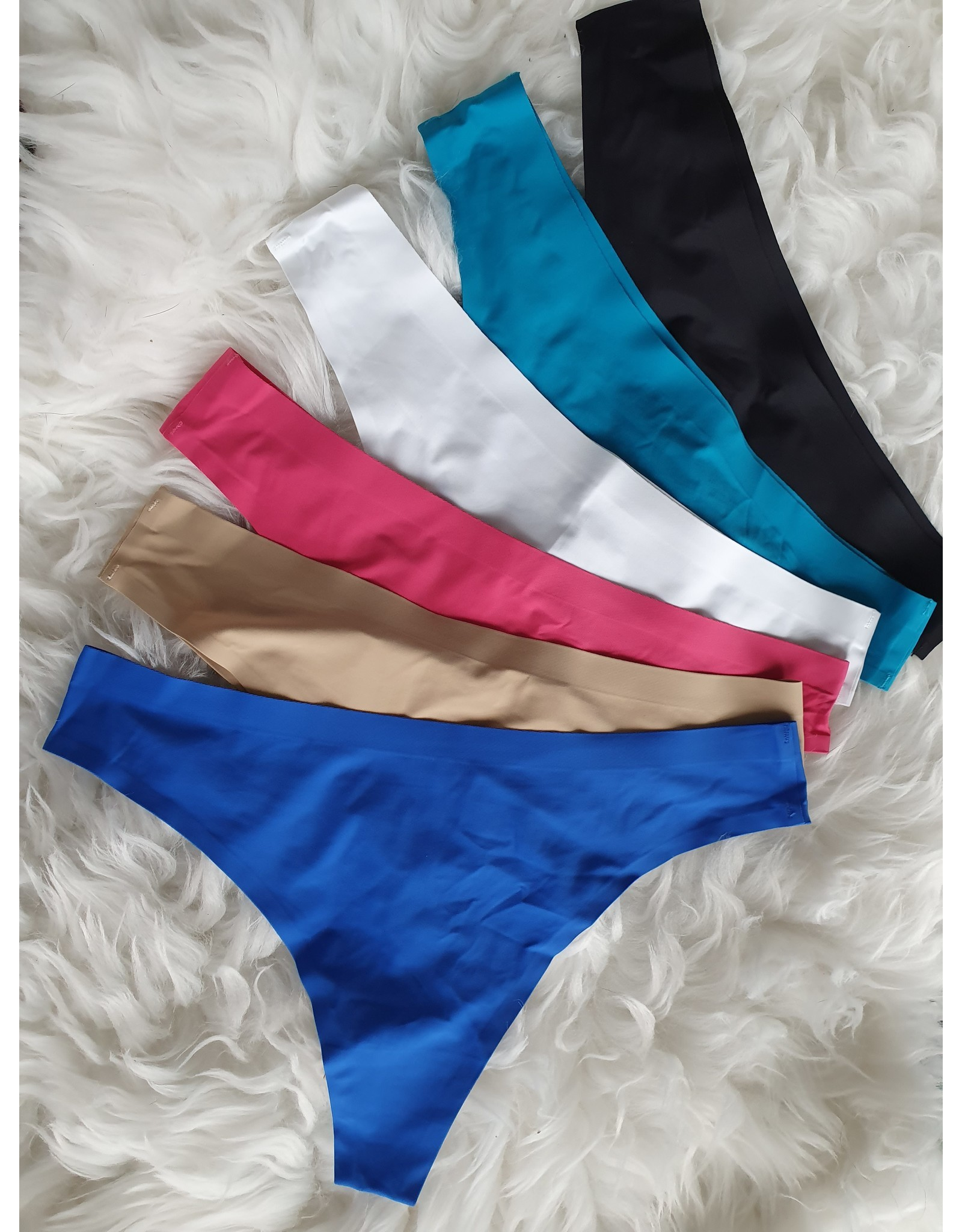 Love It Fashion Seamless string Royal Blue