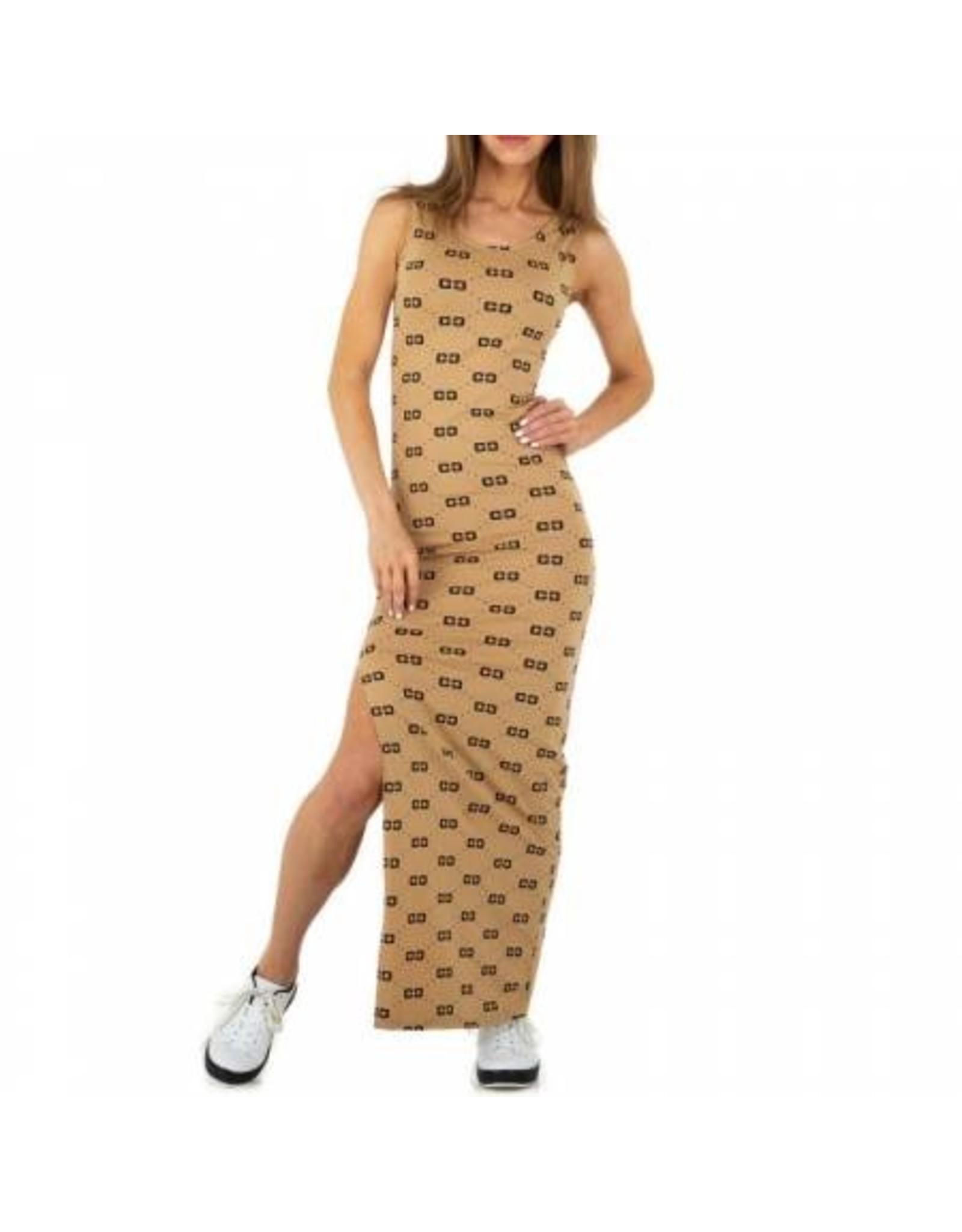SHK Mode Maxi dress Meike Beige