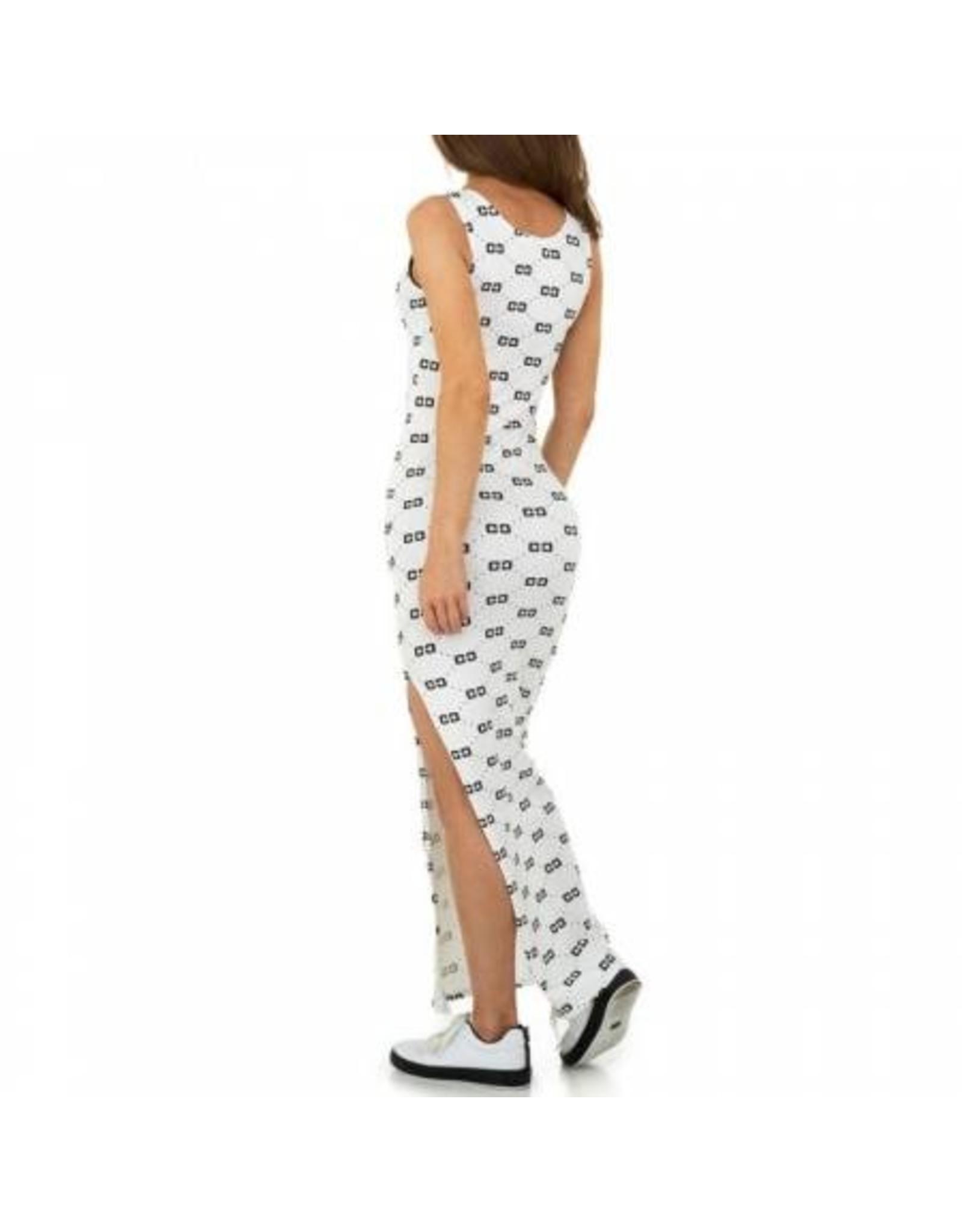 SHK Mode Maxi dress Meike Wit