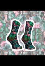 Sock My Feet Socks Funky Flowers