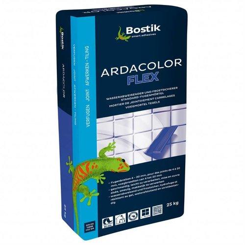 Bostik Ardacolor Flex flexibele voegmortel, thermisch hoog belastbaar