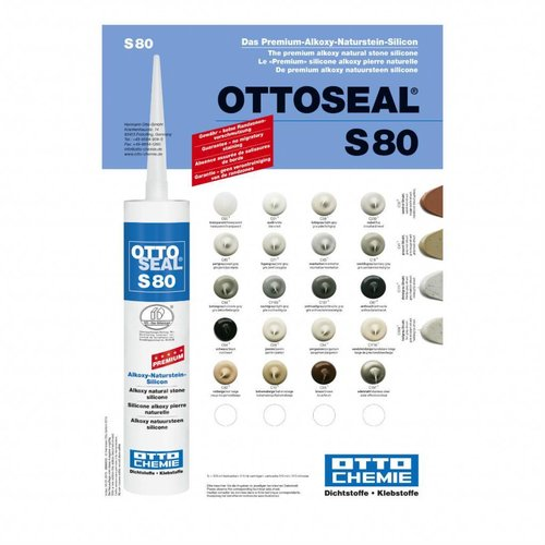 Otto Chemie S80 kleurenkaart