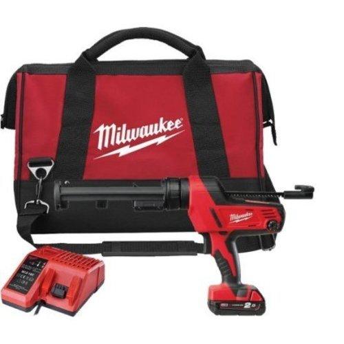 Milwaukee Milwaukee C18 PCG/310C-201B 310ml 18v accu kitspuit set