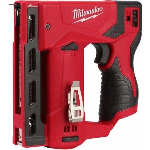 Milwaukee M12 TACKER MET KOOLBORSTELS