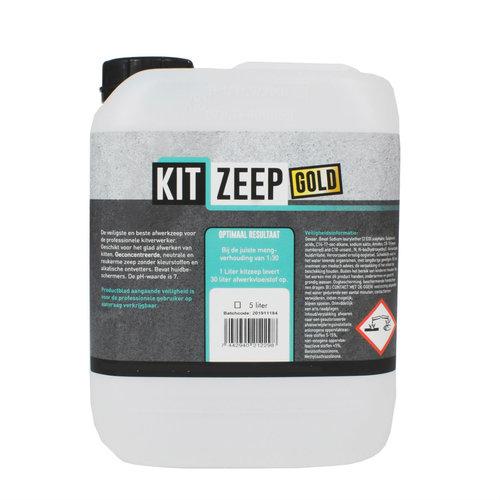 Kitzeep Afwerkzeep gold 5 liter can